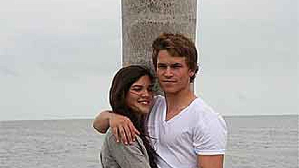 Una de las fotos de la pareja que ha sido colgada en Facebook para tratar de encontrarlos.