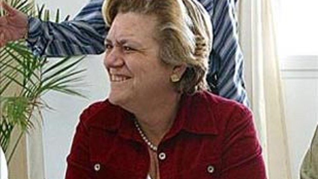 María José Docal, ex presidenta del Cabildo de Lanzarote. Foto: EFE