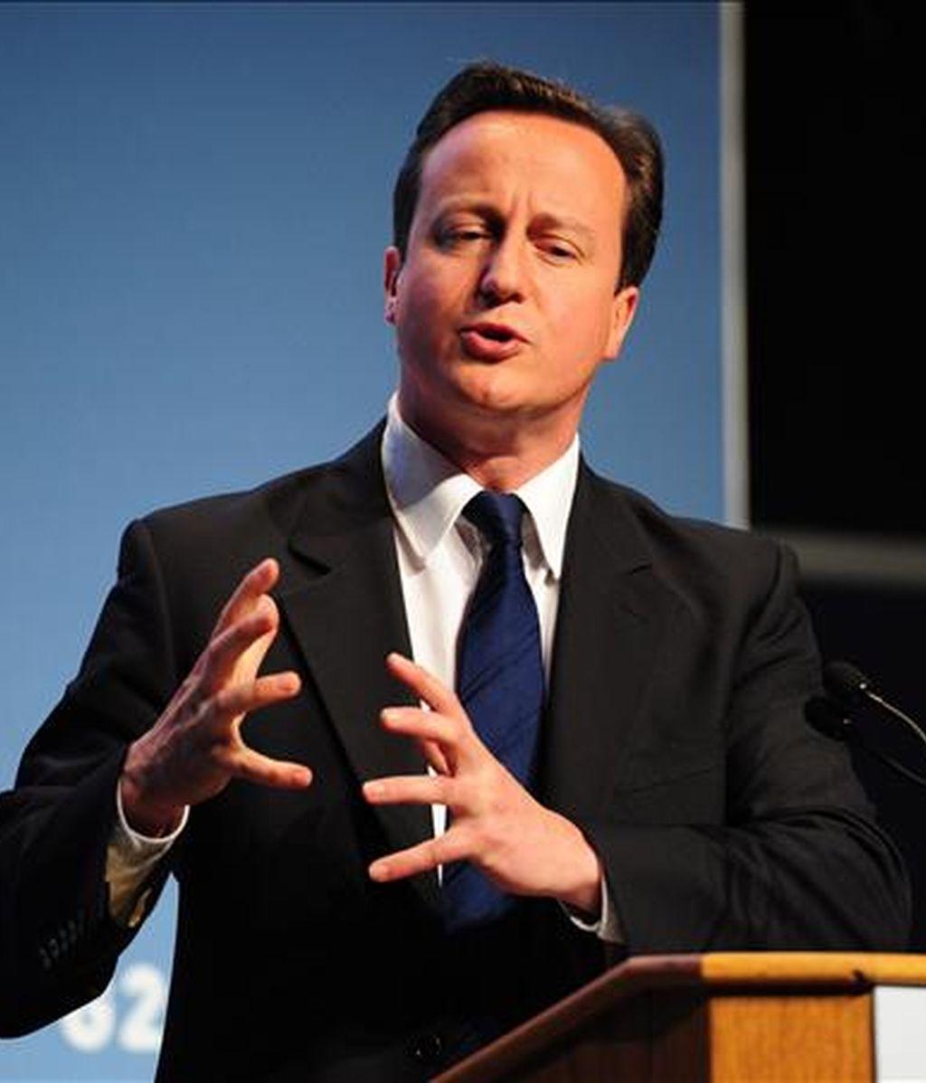 El primer ministro Británico, David Cameron. EFE/Archivo