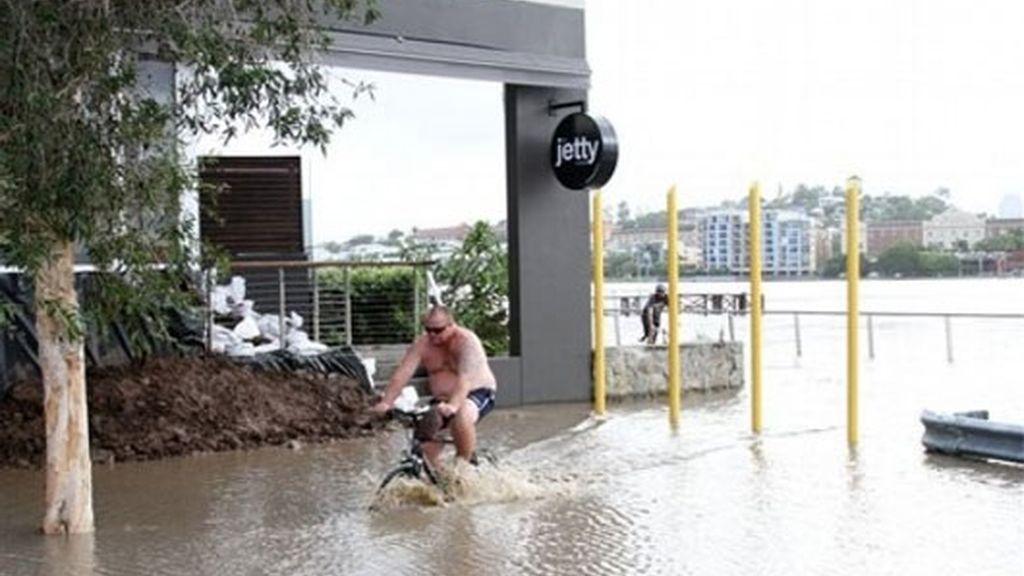 En bicicleta por Brisbane