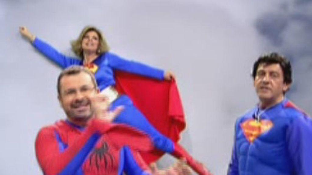 Los héroes de Sálvame surcan el cielo