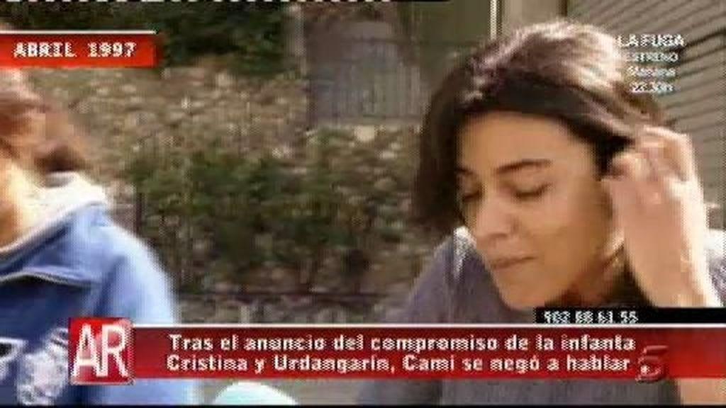 """Carmen Camí: """"No estoy dolida con él"""""""