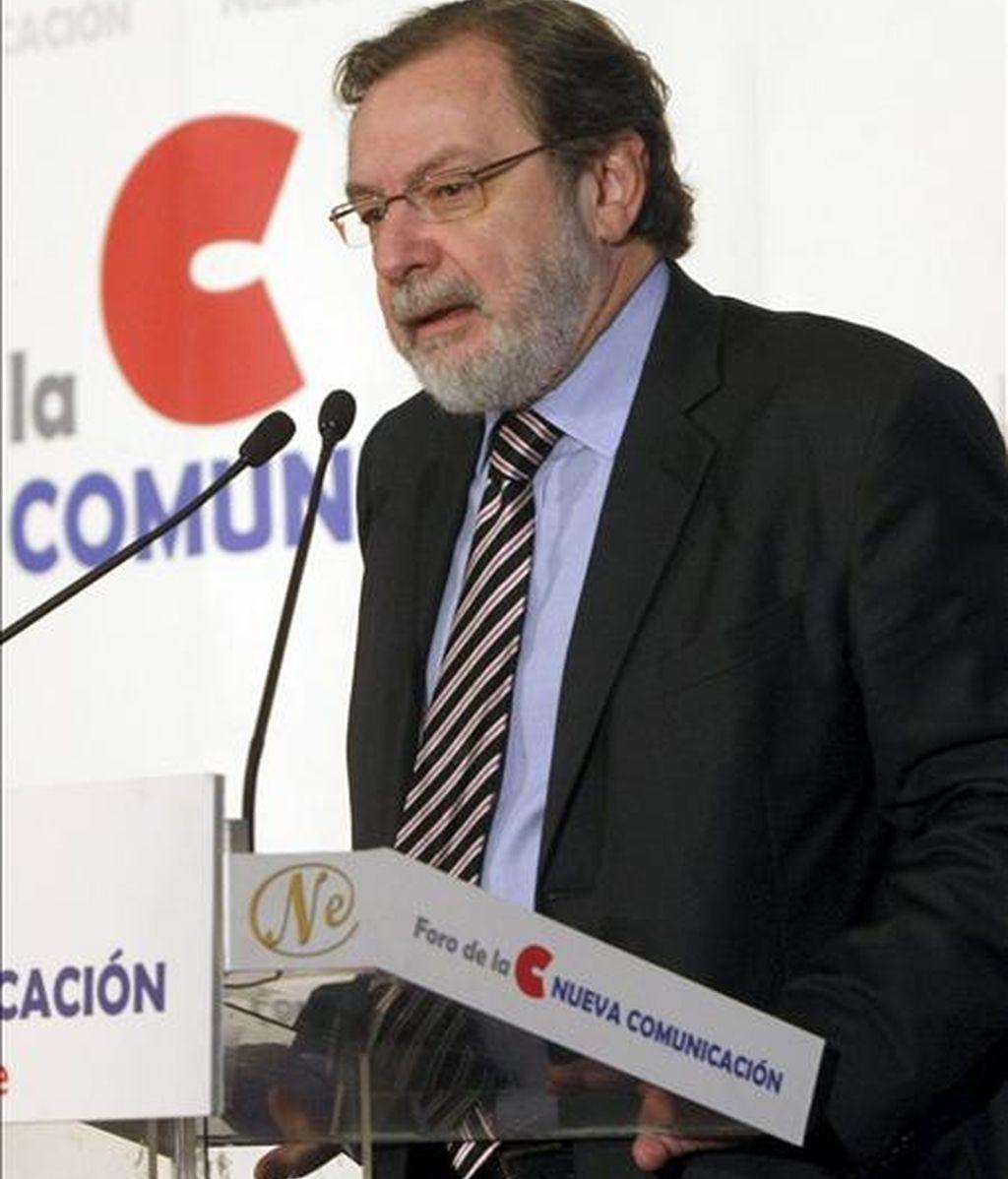 El consejero delegado del Grupo Prisa, Juan Luis Cebrián. EFE/Archivo
