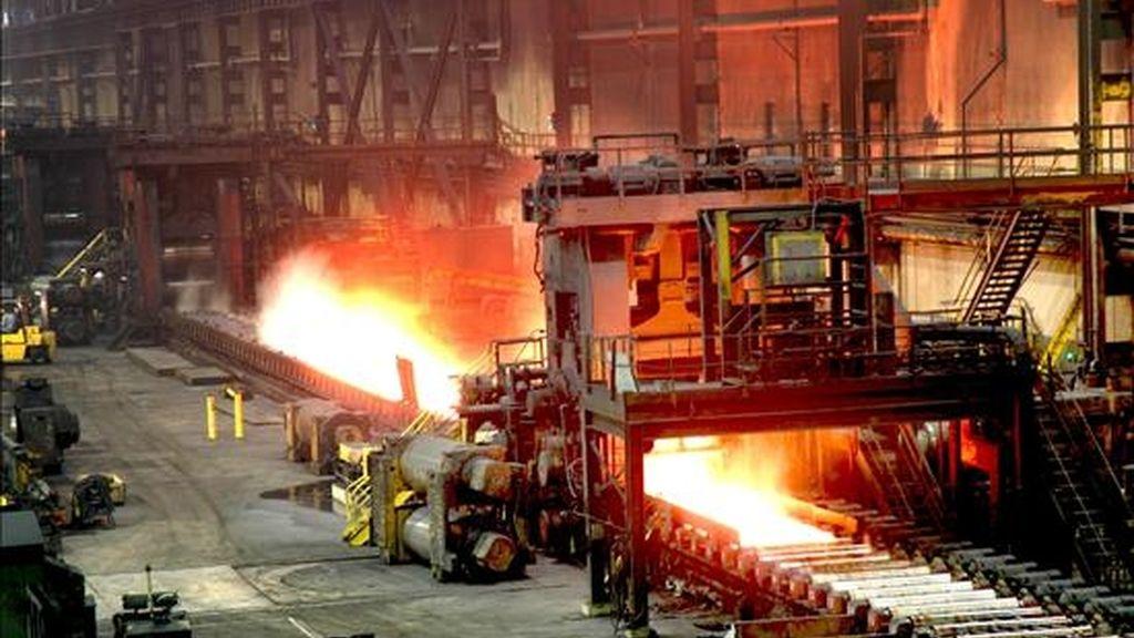 Brasil es el decimoquinto exportador mundial de acero. En la balanza comercial del país los productos metalúrgicos ocupan el tercer lugar entre los bienes más vendidos al exterior. EFE/Archivo