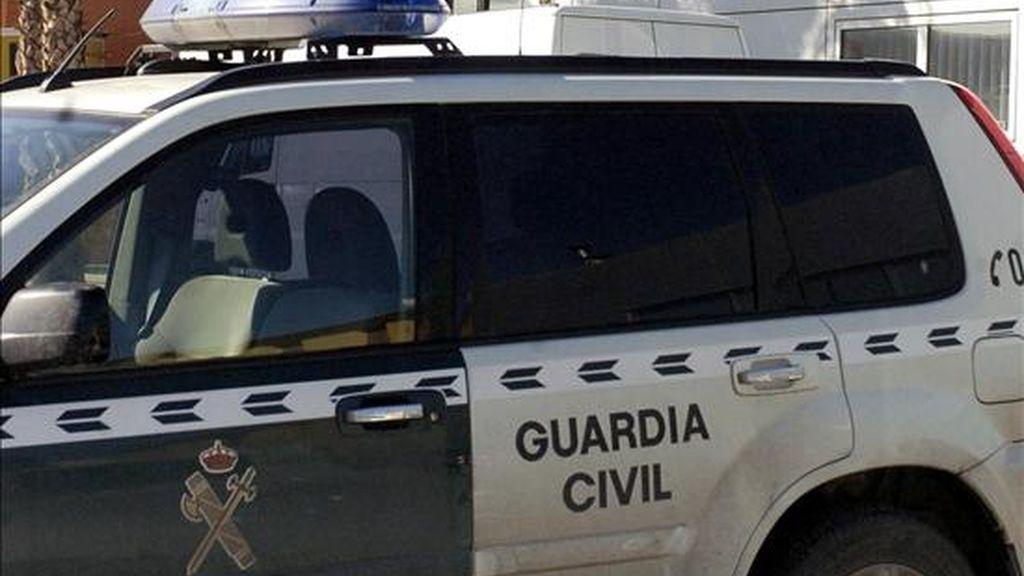 Un vehículo de la Guardia Civil. EFE/Archivo