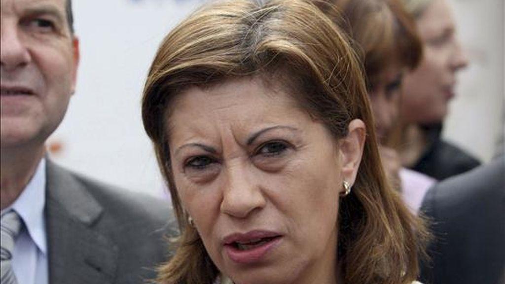 La ministra de Medio Ambiente, Medio Rural y Marino, Elena Espinosa. EFE/Archivo