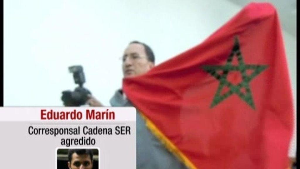 Dos periodistas españoles agredidos en Marruecos