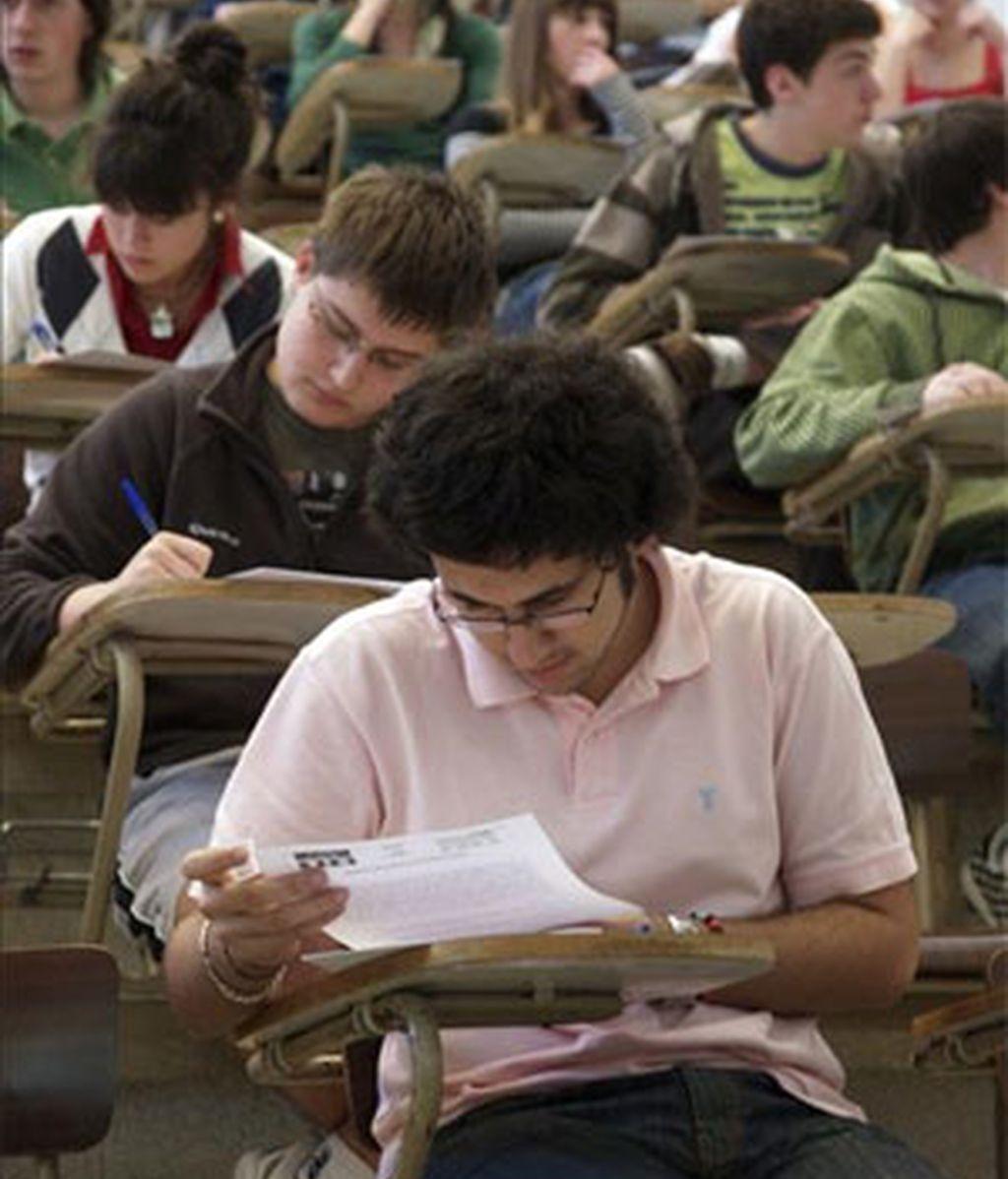 Los estudiantes españoles por debajo de la media de los países de la OCDE, según PISA.
