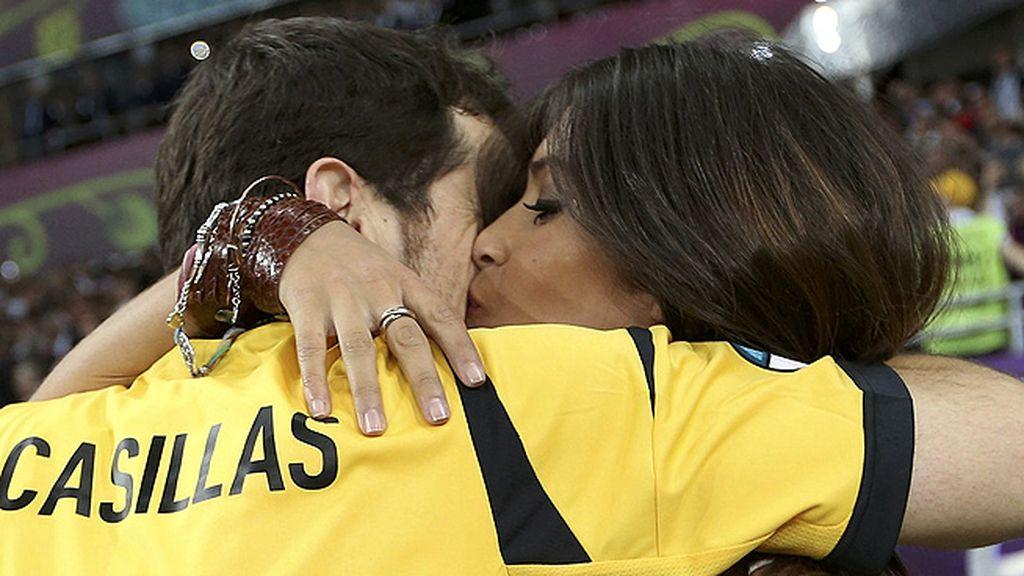 El beso de la victoria