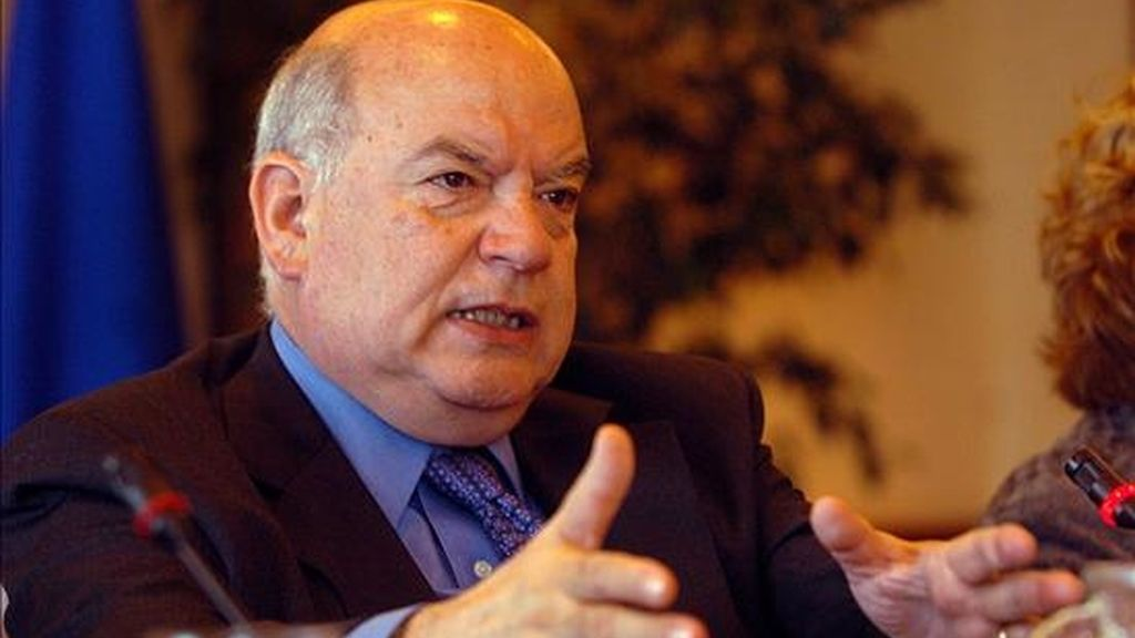 """Insulza admitió que las declaraciones que en ese sentido ofreció Correa hace dos días están dentro de los problemas y las dificultades que se presentan """"a cada rato"""" en esta crisis. EFE/Archivo"""