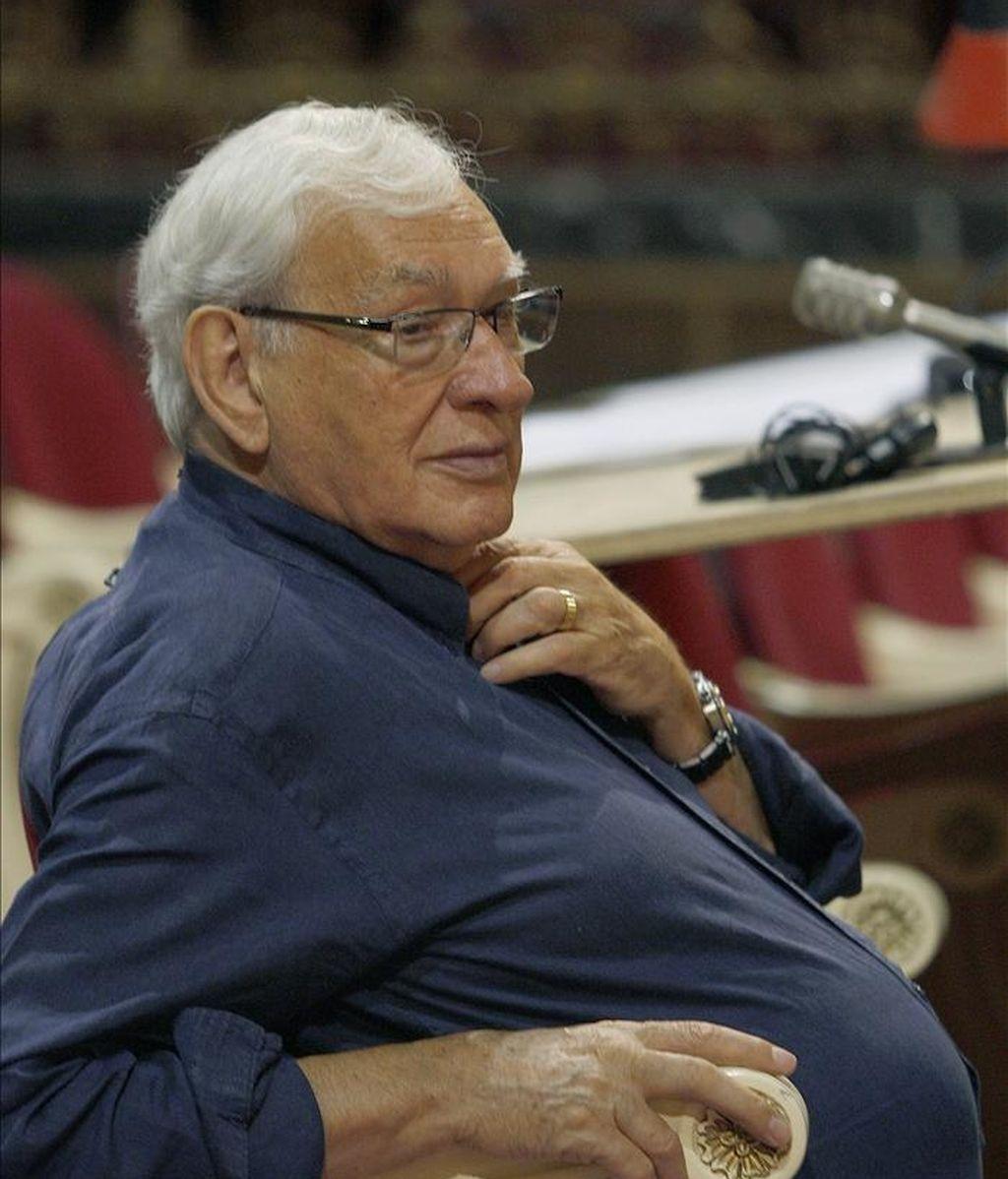 El director de teatro, Miguel Narros. EFE/Archivo