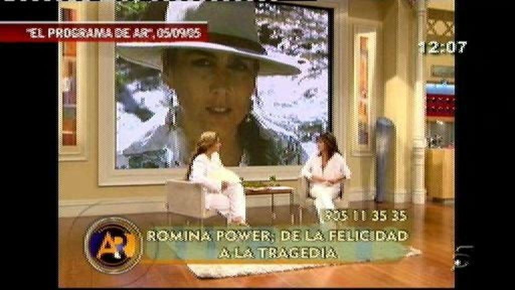 Romina Power estuvo hace seis años en 'AR'