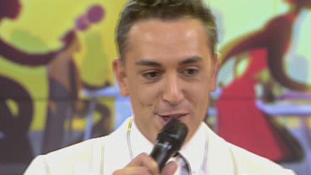 Kiko Hernández se convierte en José Vélez