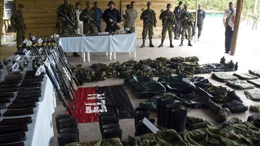 El ELN y las FARC mantienen desde 2006 algunas confrontaciones en regiones de los departamentos de Antioquia (noroeste), Arauca (nordeste), Cauca (suroeste) y Nariño (suroeste). EFE/Archivo