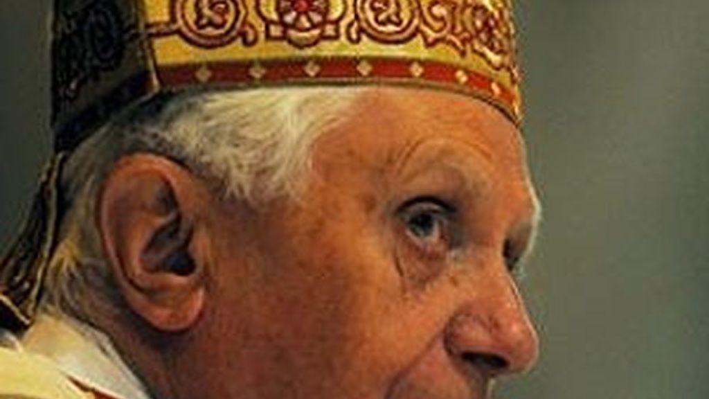 El Papa Benedicto XVI, en una imagen de archivo. Foto: EFE.