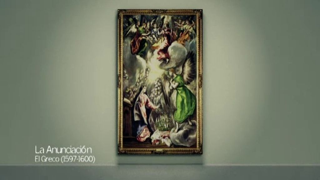 'La Anunciación', el alma se desdobla