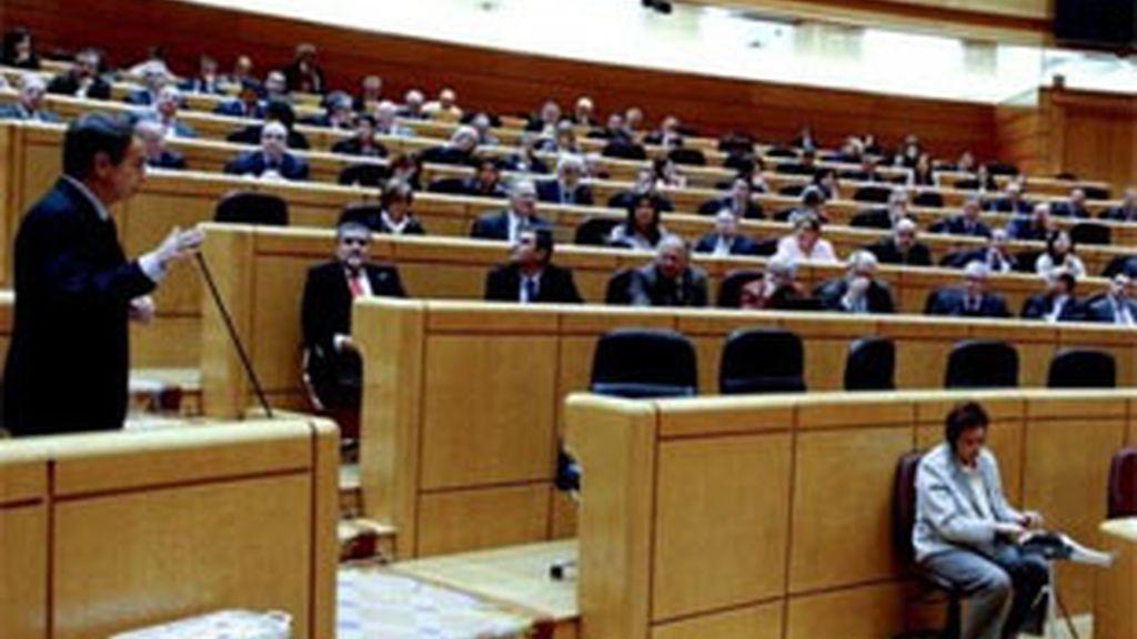 Imagen de archivo del Senado. Foto: EFE.