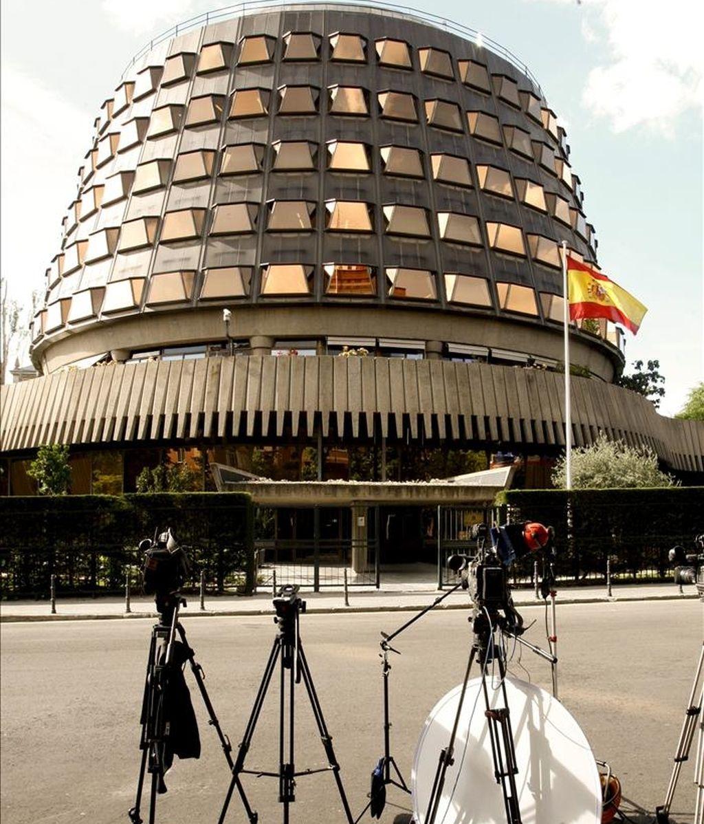 Fachada del Tribunal Constitucional, en Madrid. EFE/Archivo