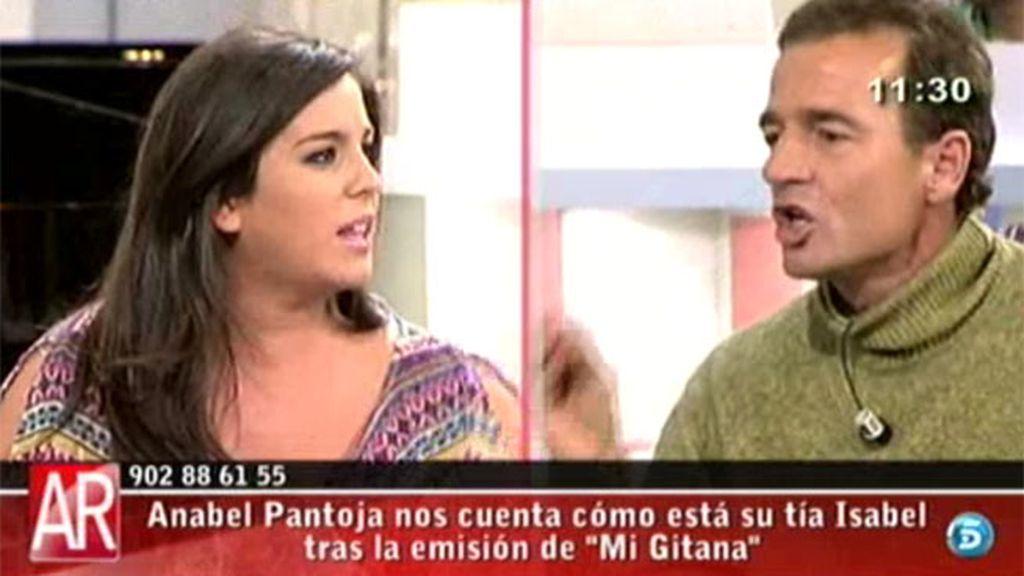 """Anabel Pantoja: """"Mi tía no es una choriza"""""""