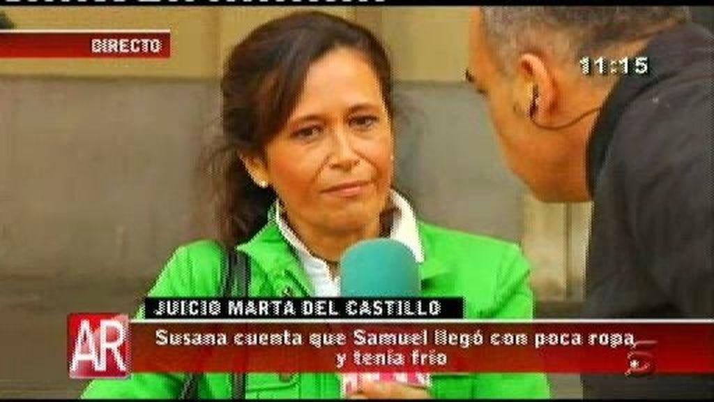 Susana repasa su declaración con Nacho Abad