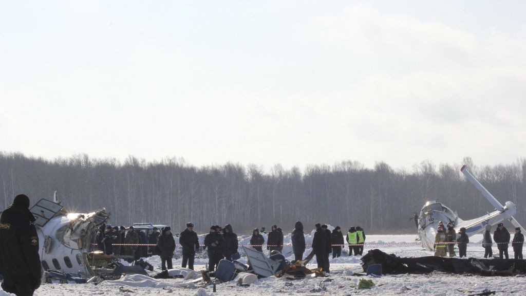 Accidente aéreo en Siberia