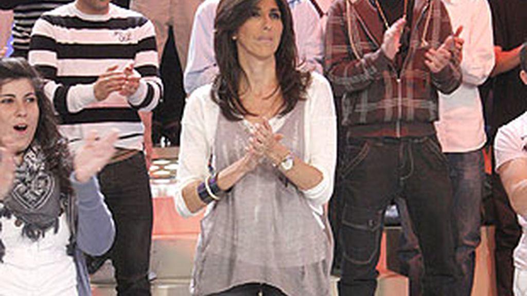 Paz padilla, presentadora del concurso.
