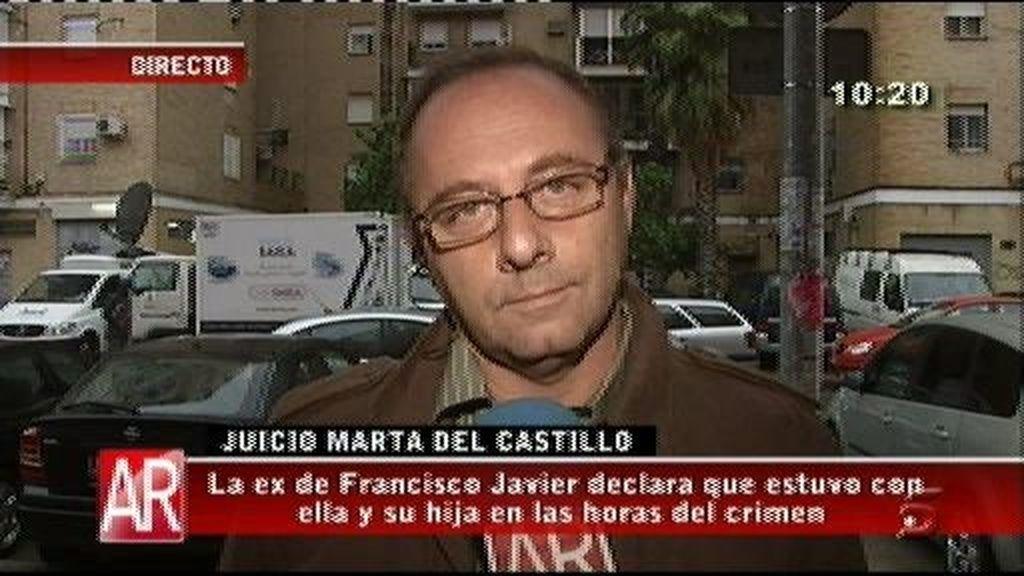 Antonio del Castillo cree que Francisco Javier estaba en la casa