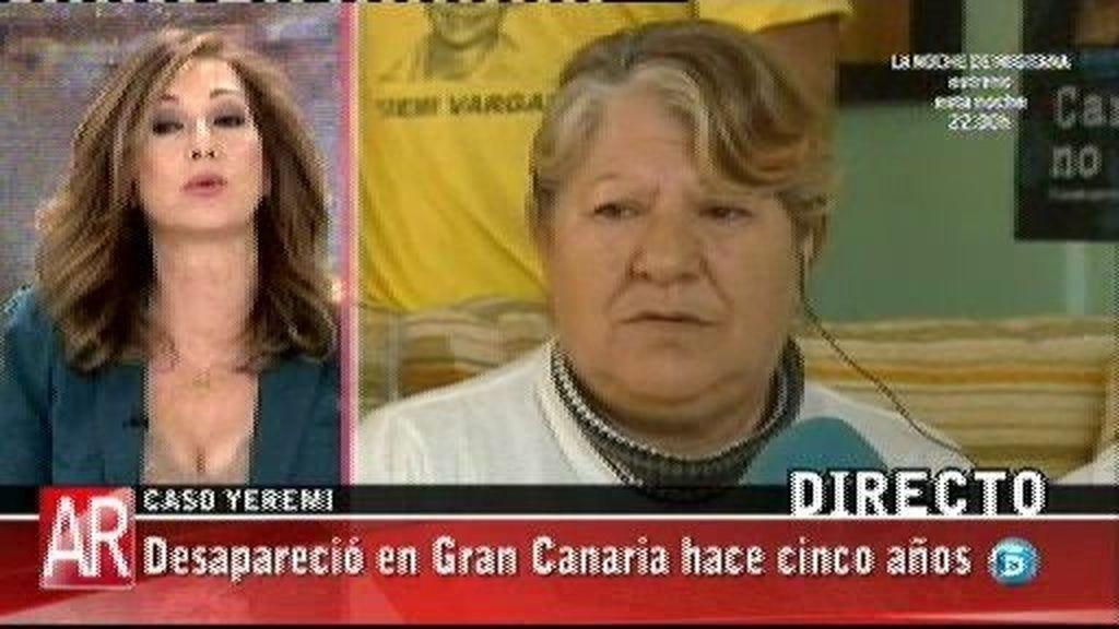 Nacho Abad desmiente que se haya encontrado ropa de Yéremi Vargas