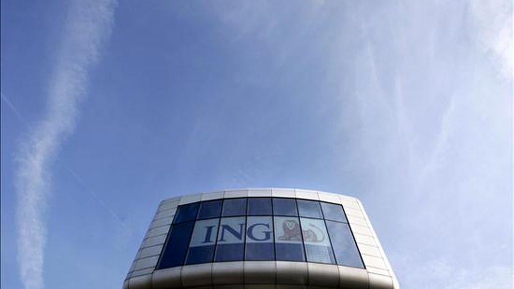 Fachada de la sede del banco holandés ING en Amsterdam, Holanda. EFE/Archivo