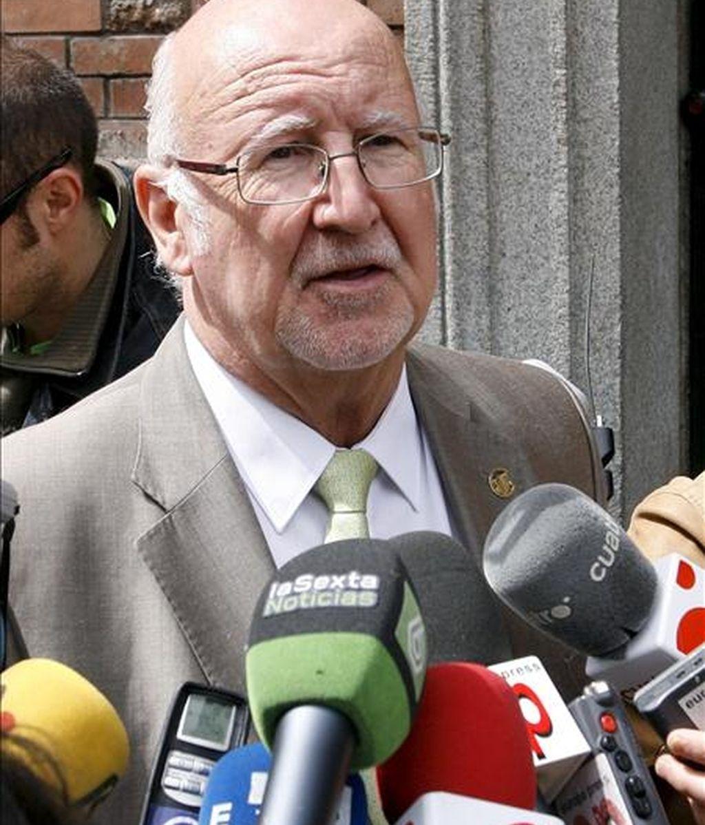 El presidente nacional de CSI- CSIF, Domingo Fernández. EFE/Archivo