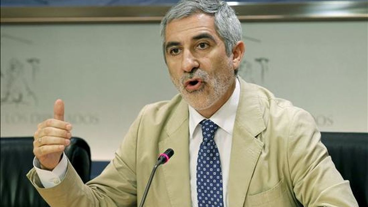 El diputado de IU Gaspar Llamazares. EFE/Archivo