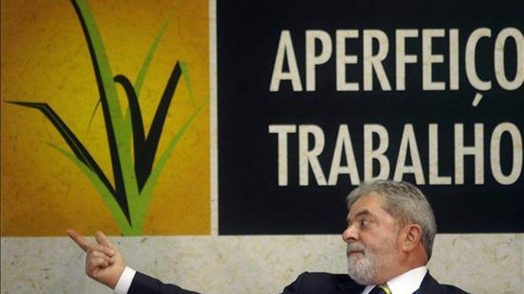 El presidente brasileño, Luiz Inácio Lula da Silva. EFE/Archivo