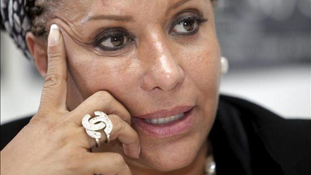"""Tan pronto regrese a Colombia el lunes, me pongo en la tarea"""", indicó, por su parte, la ex senadora desde Buenos Aires, donde está de visita, a la emisora colombiana La FM. EFE/Archivo"""