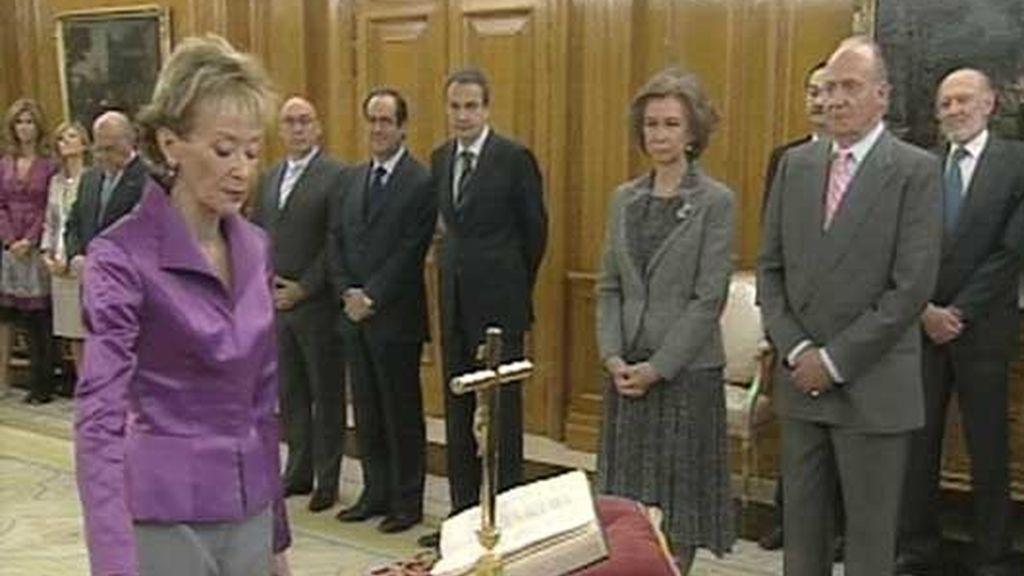 Vicepresidencia primera del Gobierno, ministra de la Presidenca y portavoz del Gobierno