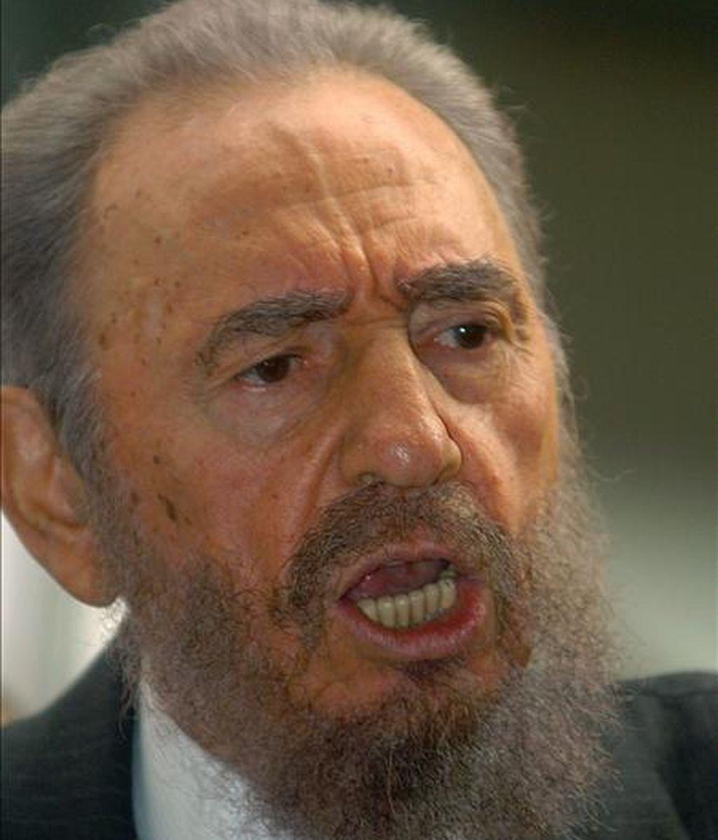 """""""La victoria estratégica"""" es el título del libro de Fidel Castro, según indica él mismo en una nueva """"Reflexión"""" publicada este martes en la web oficial Cubadebate, donde explica que el trabajo incluye una pequeña autobiografía. EFE/Archivo"""