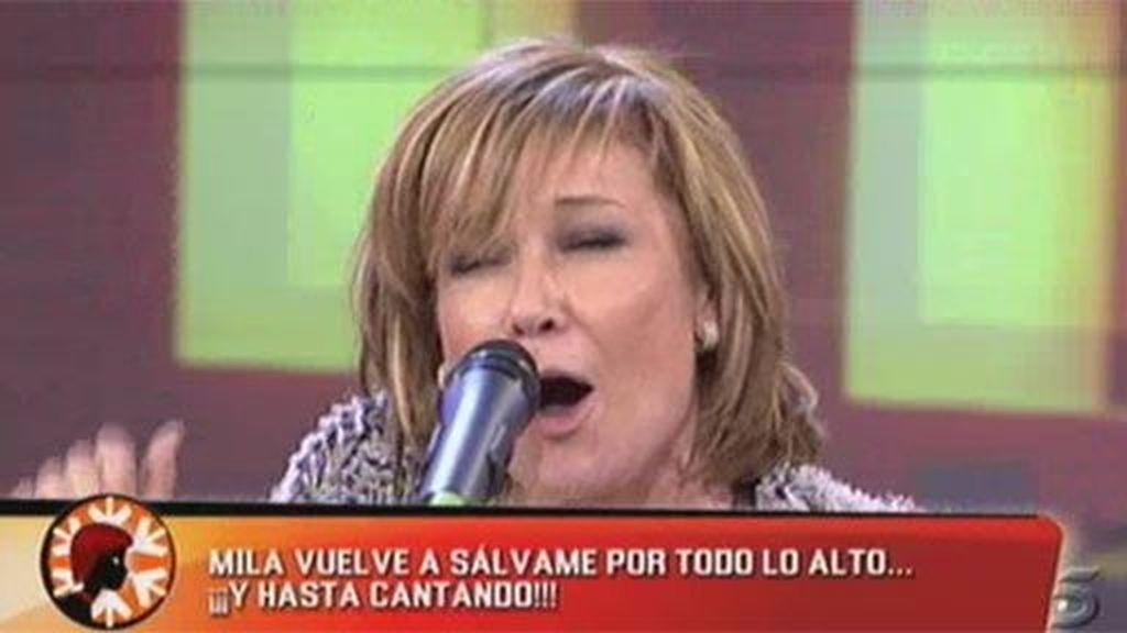 Mila canta