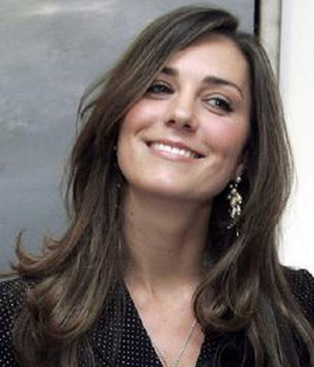 Kate Middleton será la próxima princesa de Gales, tras el anuncio de la boda con el príncipe Guillermo de Inglaterra. Foto archivo EFE