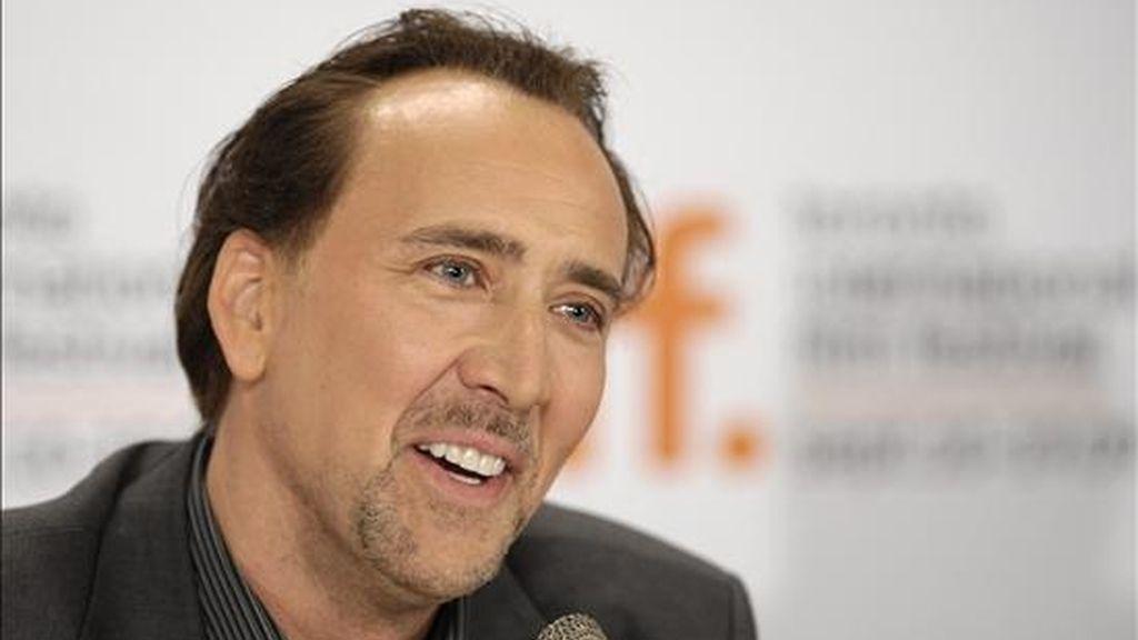 El actor estadounidense Nicolas Cage. EFE/Archivo