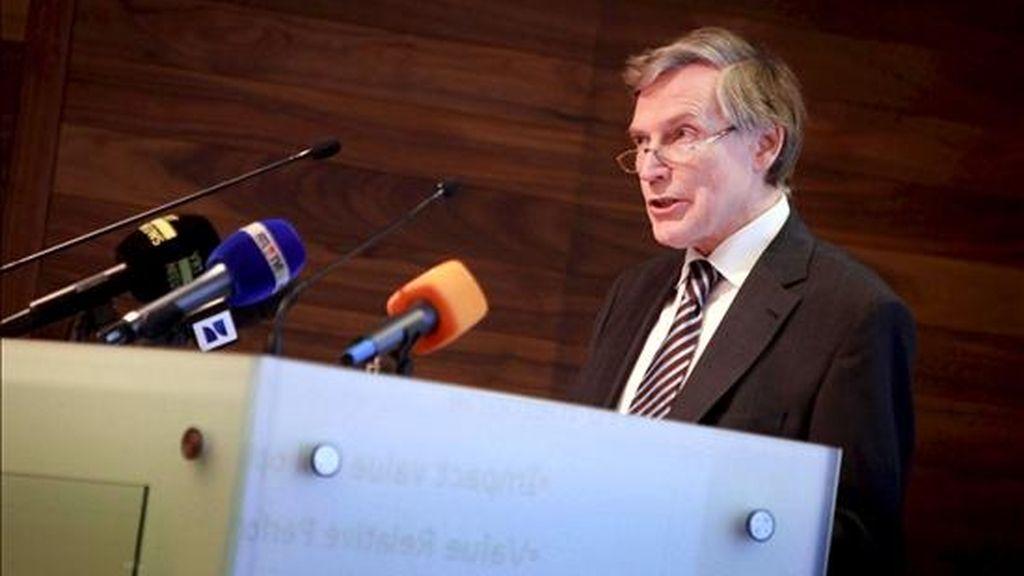 El director financiero de la entidad bancaria belga Fortis Bank, Patrick Depovere. EFE/Archivo