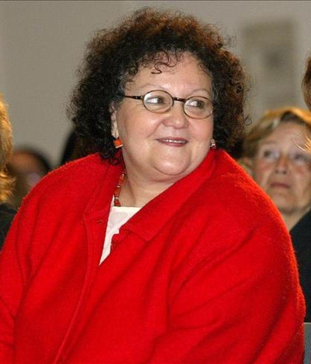 La ex secretaria general de Asuntos Sociales Amalia Gómez. EFE/Archivo