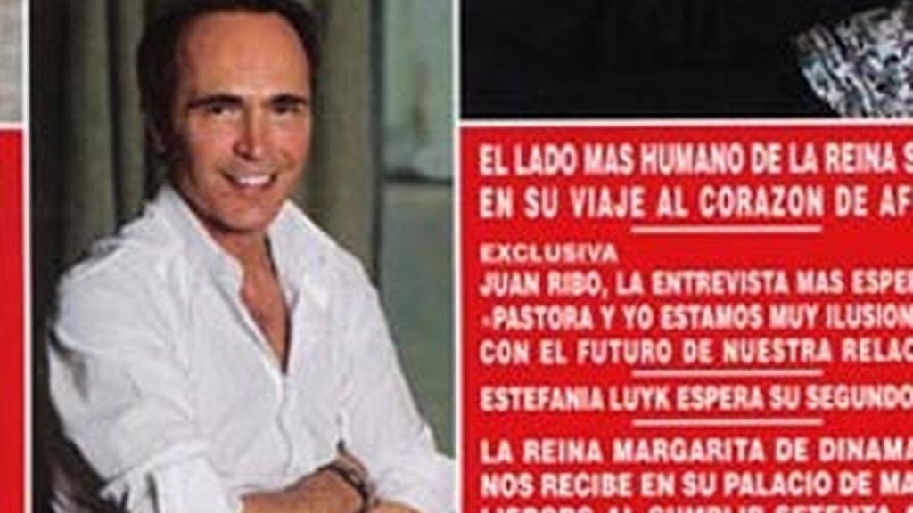 Juan Ribó se sincera en Hola