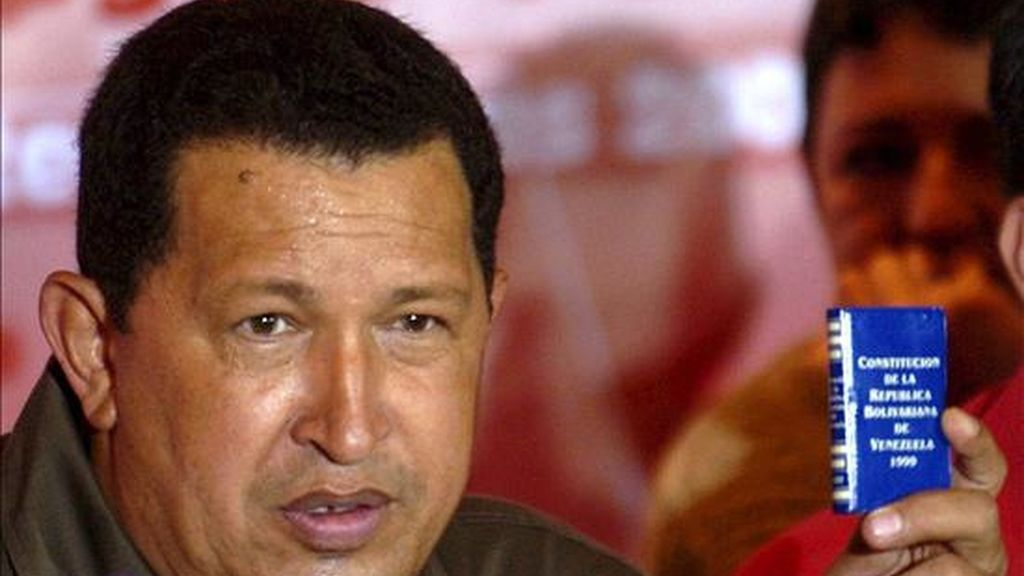 El presidente venezolano, Hugo Chávez. EFE/Archivo