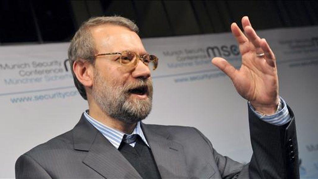 El presidente del Parlamento iraní, Ali Larijani. EFE/Archivo
