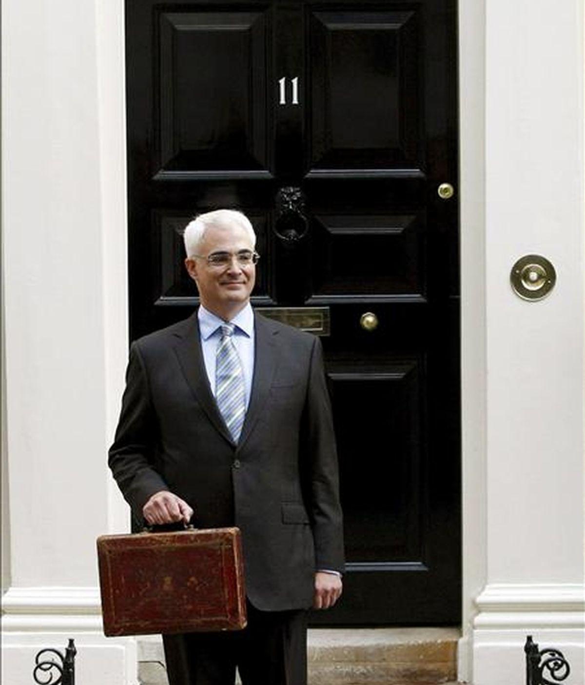 El ministro británico de Finanzas, Alistair Darling. EFE/Archivo