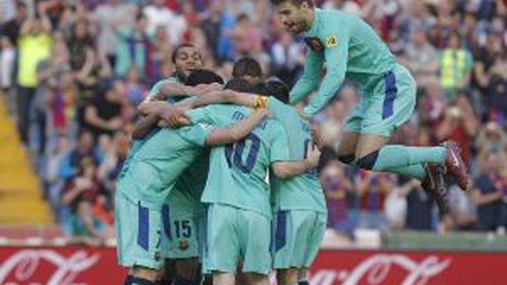 El Barcelona, campeón de Liga. Vídeo: Informativos Telecinco