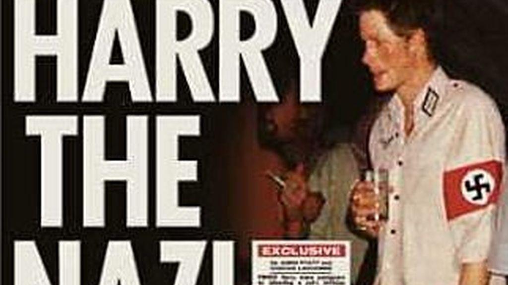 Harry ya había protagonizado un escándalo similar en 2005, cuando asistió a una fiesta disfrazado con el uniforme nazi.