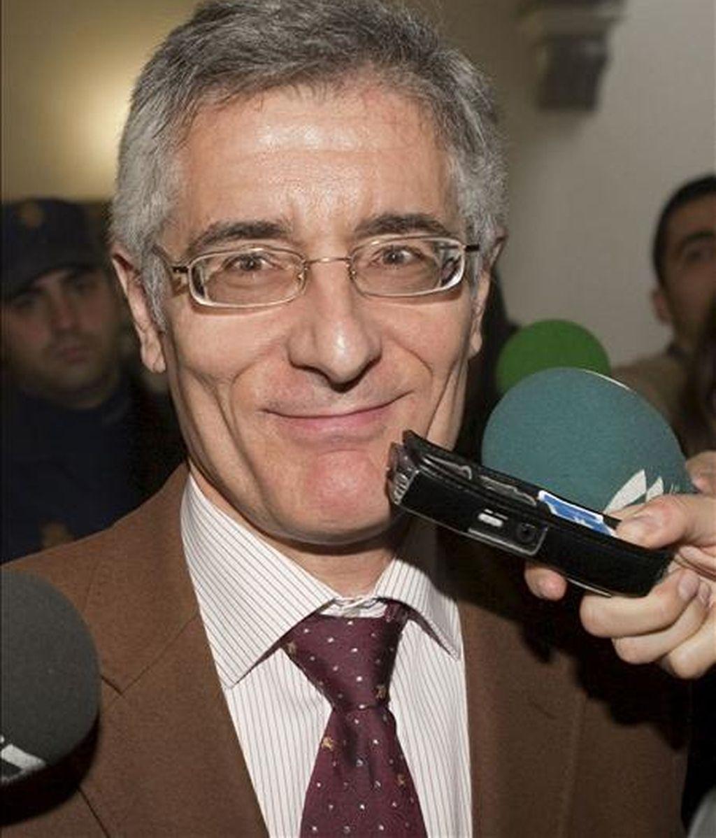 El ex diputado de Unió Mallorquina (UM) Bartomeu Vicens. EFE/Archivo