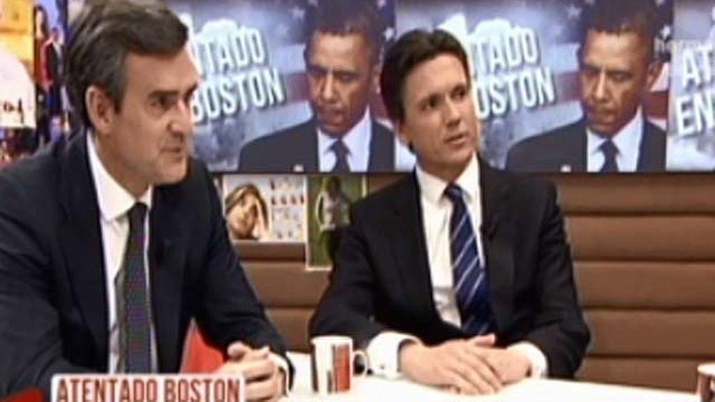 'TVAE' habla con dos corredores que vivieron el atentado de Boston