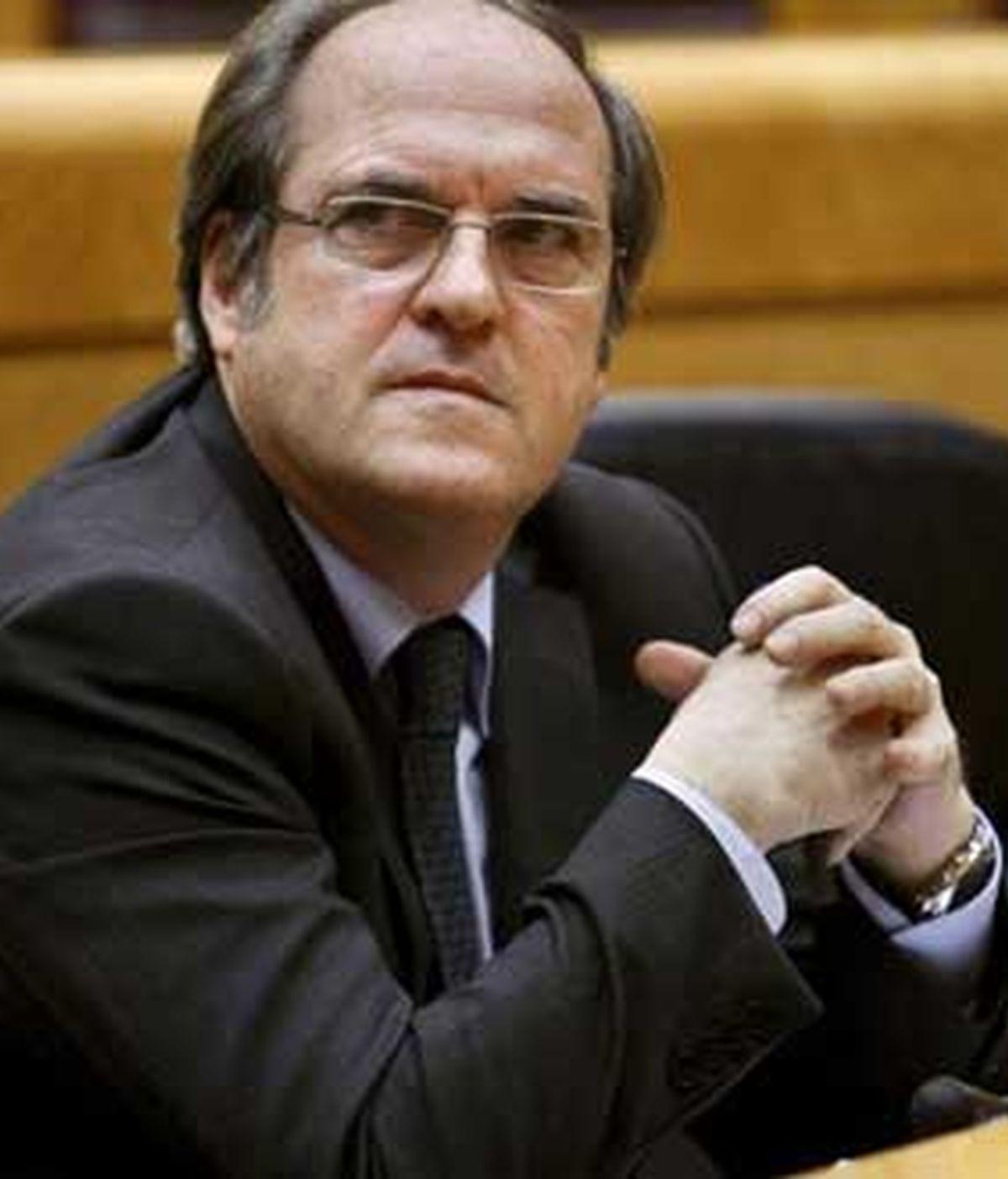 El ministro de Educación, Ángel Gabilondo, en una imagen de archivo. Foto: EFE