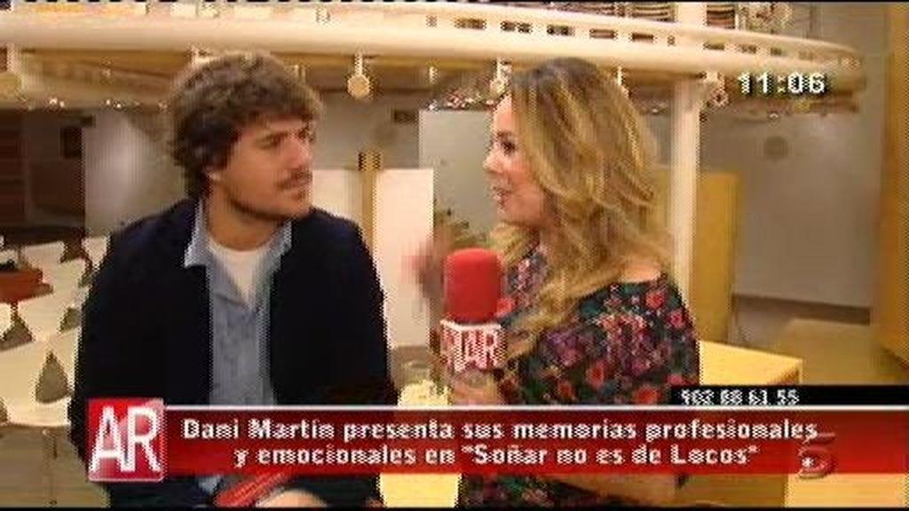 """Dani Martín presenta """"Soñar no es de locos"""""""